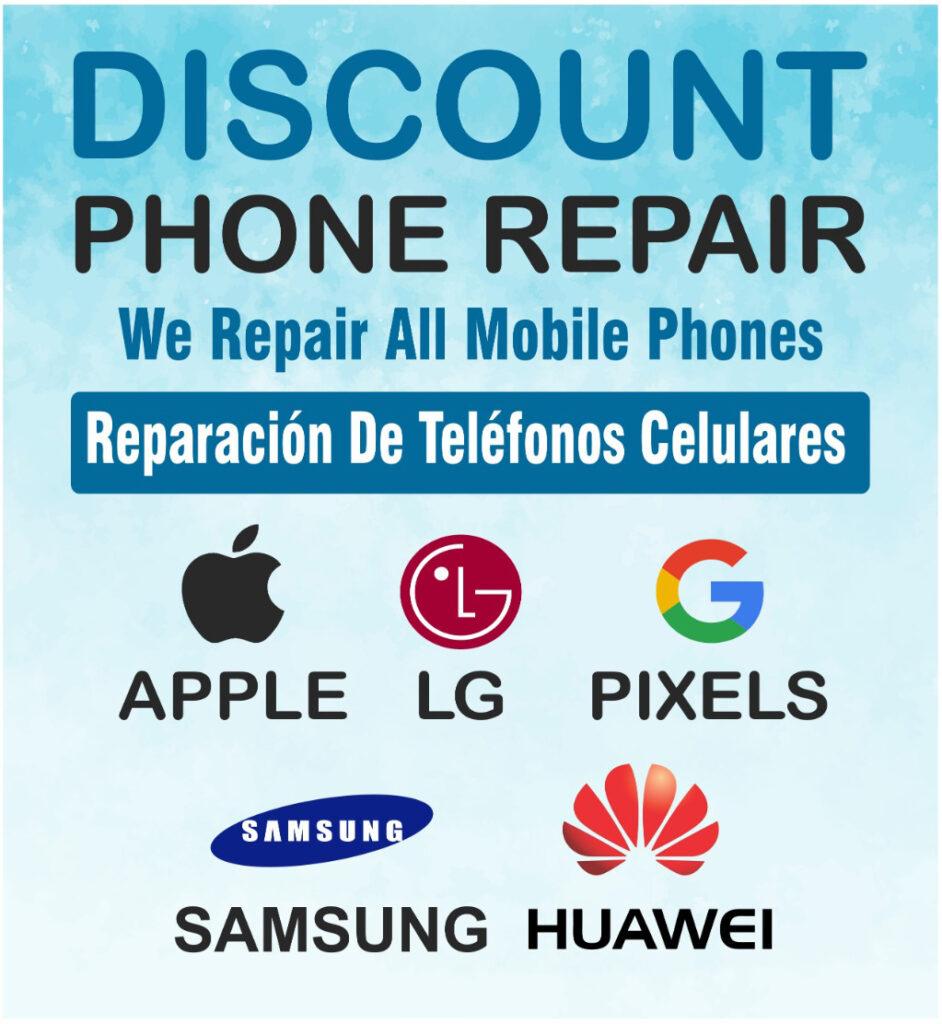 About Discount Phone Repair #1 smartphone repair specialist